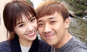 Hari Won nói lời yêu thương sau khi Trấn Thành bị 'cấm sóng'