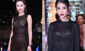 Loạt ảnh chứng tỏ đèn flash là 'kẻ thù' của người đẹp Việt