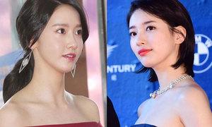 Yoon Ah, Suzy khoe vai trần quyến rũ mọi ánh nhìn