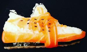 Sneaker bằng sushi đúng khẩu hiệu 'ngon - bổ - rẻ'