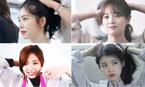 Những mỹ nhân Hàn khiến các chàng trai thương nhớ khi buộc tóc