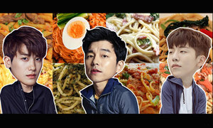 Chọn mỳ pasta yêu thích hé lộ sao nam Hàn bạn ước sánh đôi