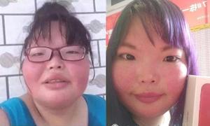 Cô gái Trung Quốc béo, xấu đánh bật dàn mỹ nữ để thành hoa khôi