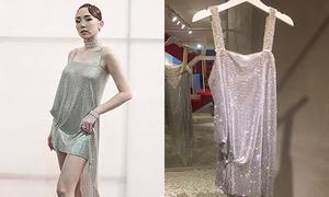 Quá trình làm nên chiếc váy sexy kết hàng chục nghìn viên pha lê của Tóc Tiên