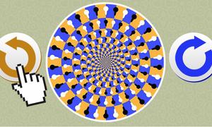Quiz tính cách: Vòng tròn này quay theo hướng nào?