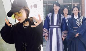 Sao Hàn 5/5: Yoon Ah rạng rỡ bên trai đẹp, Dara khoe style chất ngầu