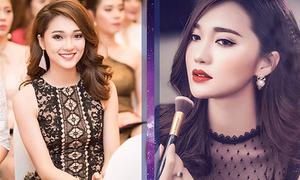 Hot girl 'đẹp từ tên đến người' dẫn đầu bình chọn ở Hoa hậu Hoàn vũ 2017