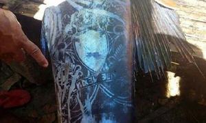 Ngư dân bắt được con cá có 'hình xăm' kỳ lạ trên lưng