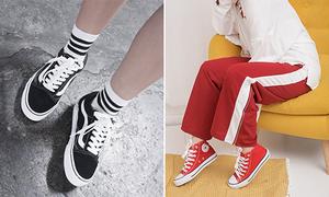 3 mẫu giày đình đám teen đi hàng nhái còn nhiều hơn đồ xịn