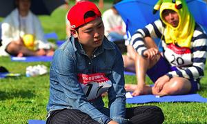 Giới trẻ Hàn Quốc 'phát sốt' với môn thể thao... không làm gì