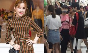 Chi Pu bị nghi sang Quảng Châu nhập hàng bán cho shop đồ Hàn