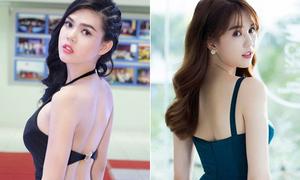 'Em sinh đôi thất lạc' của Ngọc Trinh thi Hoa hậu Hoàn vũ 2017