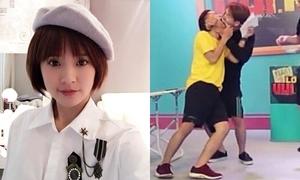 Sao Việt 14/5: Midu tóc ngắn 'đẹp trai', Tronie 'dọa kiện' vì bị cưỡng hôn