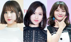 Các nữ thần xứ Hàn quá xinh đẹp với tóc ngắn
