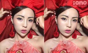10 sao Việt cằm nhọn hoắt trông thế nào khi có mặt tròn, má phính?