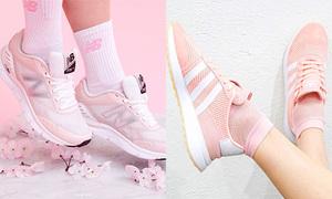 10 đôi sneaker màu 'hường' đố cô gái nào có thể kìm lòng