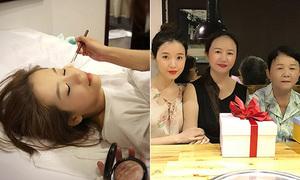 Sao Việt 16/5: An Nguy vừa ngủ vừa trang điểm, Midu giống hệt bà và mẹ