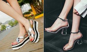3 kiểu sandals sành điệu đi lên chân trắng hẳn ra