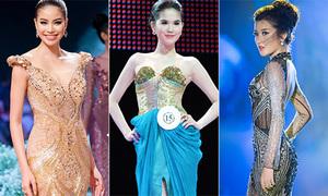 Những chiếc váy được đấu giá cao ngất ngưởng của người đẹp Việt
