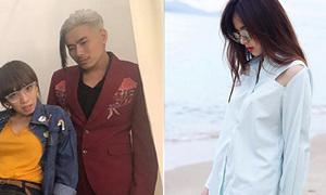 Sao Việt 17/5: Kiều Minh Tuấn để tóc 'trai làng', Midu mặc áo 'thủng'