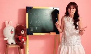 Hari Won làm cô giáo dạy tiếng Hàn