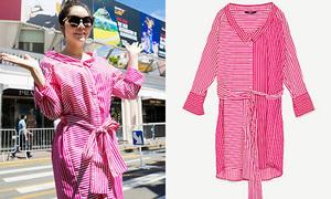 Lý Nhã Kỳ lần đầu mang váy siêu rẻ đến dự Cannes