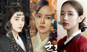 Loạt mỹ nhân Hoa - Hàn bị photoshop thành tượng sáp trên poster phim