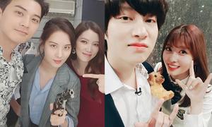 Sao Hàn 20/5: Momo thân thiết với Hee Chul, Seo Hyun ra vẻ cool ngầu