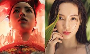 Góc chụp 'chết' tiết lộ nhược điểm gương mặt mỹ nhân Việt