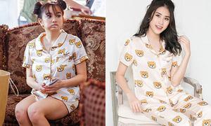 Đồ ngủ siêu cute của Kaity Nguyễn trong 'Em chưa 18' gây sốt