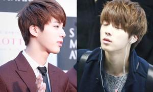 Góc nghiêng 'thần thánh' giúp Jin (BTS) được fan quốc tế săn lùng