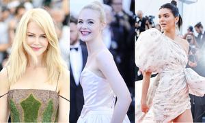 Những 'nàng tiên' không ai có thể rời mắt trên thảm đỏ LHP Cannes 2017