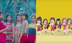 8 động tác vũ đạo giống nhau bất ngờ giữa các nhóm nữ Kpop