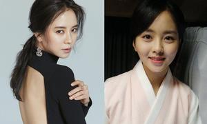 Sao Hàn 24/5: Kim So Hyun lộ bọng mắt to, Song Ji Hyo lưng trần gợi cảm
