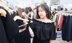 Mua sắm thả ga với 500k tại hội chợ giá rẻ lần đầu tiên ở Hà Nội
