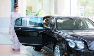 Diễm Trang được chồng đưa đón bằng xế hộp 10 tỷ