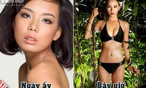 Ngày ấy - bây giờ của 10 chân dài quay lại thi Vietnam's Next Top Model