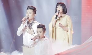 Màn hòa giọng 3 thế hệ tại chung kết 'Giọng hát Việt' gây xúc động