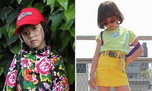 Nhóc 6 tuổi người Nhật gây sốt Instagram nhờ gu ăn mặc 'dị'