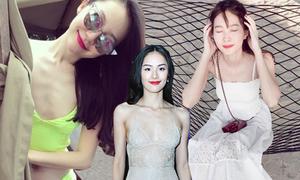 10 mỹ nhân Việt 'vạn người mê' có thân hình gầy tong lệch chuẩn