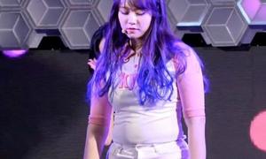 Nữ idol Kpop 15 tuổi bị khán giả tẩy chay vì thân hình mũm mĩm