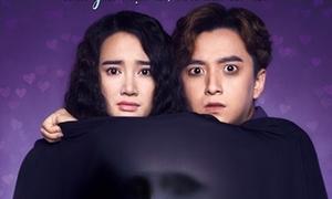Ngô Kiến Huy - Nhã Phương ma mị trên poster 'Yêu đi, đừng sợ'