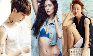 Quiz: Nhận dạng hình xăm thật - giả của sao Hàn