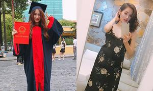 Sao Việt 2/6: Hòa Minzy mượn đồ cử nhân 'sống ảo', Tâm Tít bầu 7 tháng 'như không'