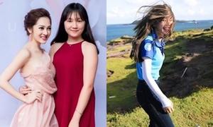 Sao Việt 4/6: Bảo Anh khoe em gái hotgirl, Chi Pu tóc tai bù xù