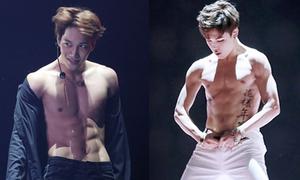 Những mỹ nam Hàn cởi áo khoe cơ bụng đẹp mê hoặc
