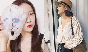 Thời trang chống nắng, mặt nạ làm mát hot nhất tuần (109)
