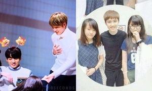 Hành động 'ngọt lịm tim' của idol Hàn khi lỡ làm fan bị thương