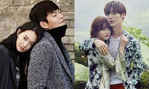 4 mối tình 'chị ơi, anh yêu em' siêu đẹp trong showbiz Hàn