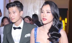 Hoàng Oanh - Huỳnh Anh thân mật dự sự kiện sau chia tay